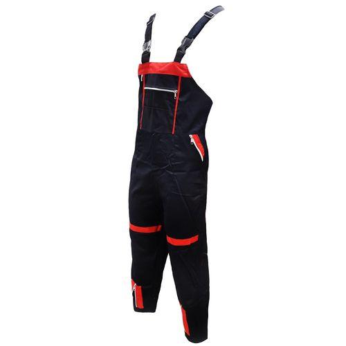 لباس کار دوبنده سبلان مدل پرشین مشکی قرمز