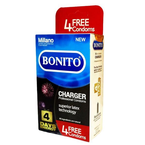 کاندوم بونیتو مدل charger بسته 16 عددی
