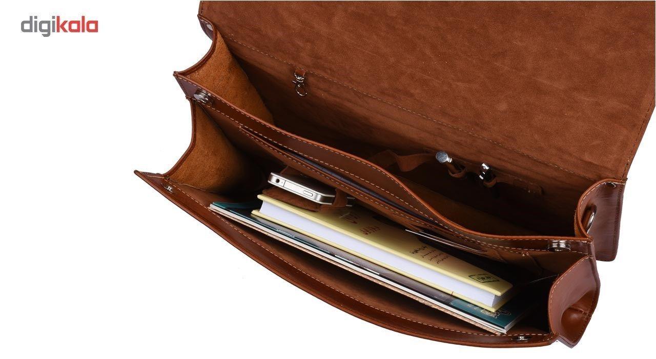 کیف اداری کهن چرم مدل L73-50 main 1 6
