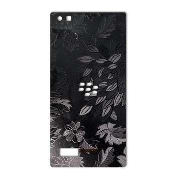 برچسب پوششی ماهوت مدل Wild-flower Texture مناسب برای گوشی  BlackBerry Leap