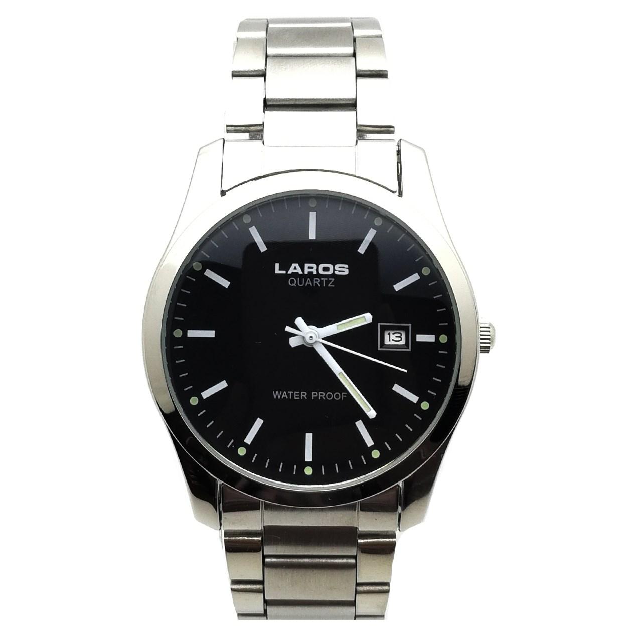 ساعت مچی عقربه ای مردانه لاروس مدل LM-N622-Black