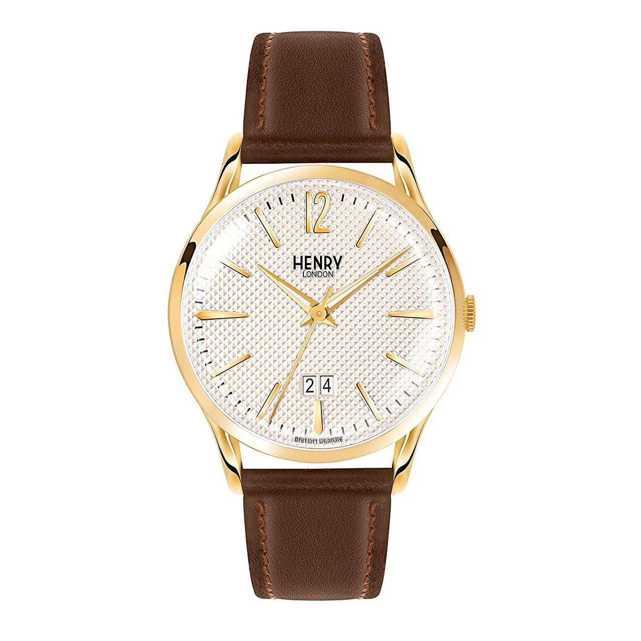ساعت مچی عقربه ای هنری لندن مدل Hl41-js-0016