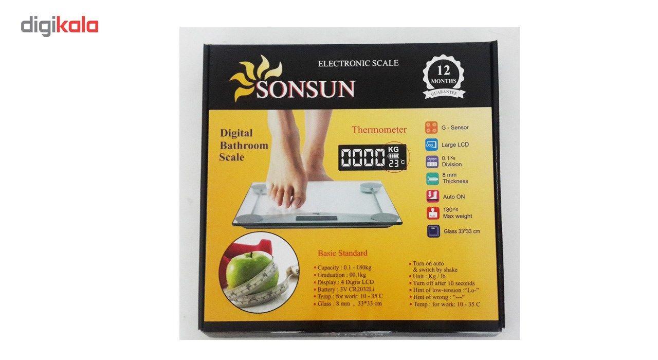 ترازو دیجیتال 10 میل مدل SONSUN main 1 2