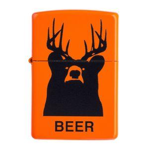 فندک زیپو مدل Beer Bear