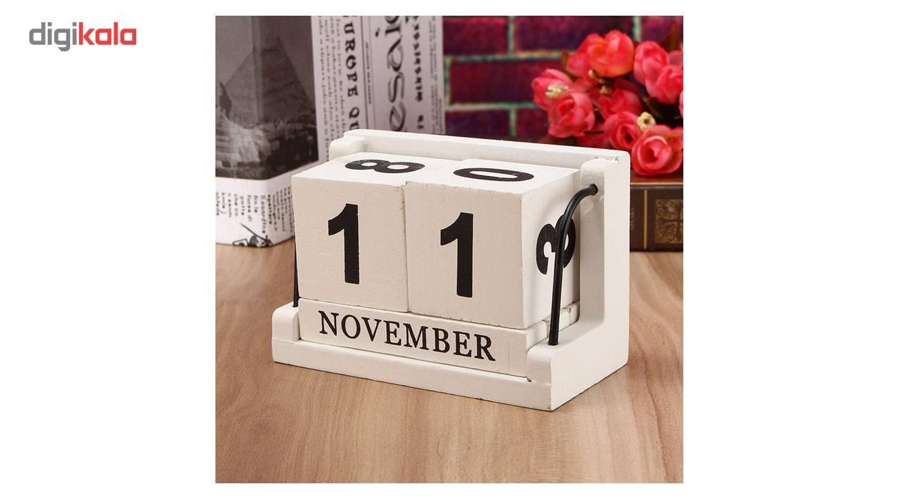 تقویم رومیزی نقطه مدل White Box