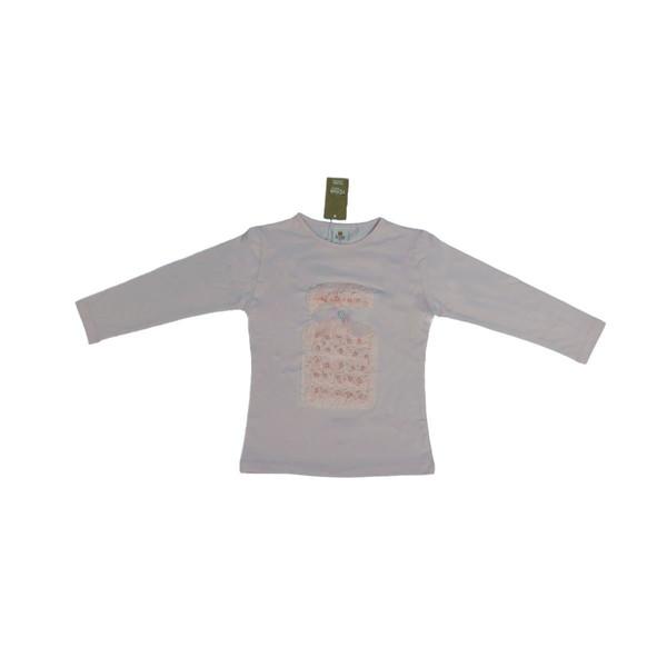 تی شرت آستین بلند دخترانه آی چیلک مدل IC107
