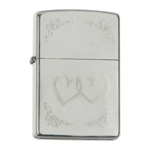 فندک زیپو مدل Heart To Heart 24016
