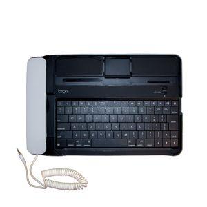کیبورد بی سیم تبلت مدل ip-090 به همراه گوشی مناسب برای آی پد 3