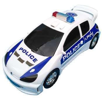 ماشین بازی پلیس مدل پژو 206