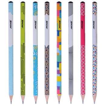 مداد مشکی ماین مدل نوادا -بسته 8 عددی
