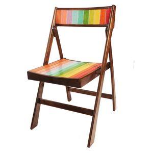 صندلی تاشو بهمان مدل رنگین کمان