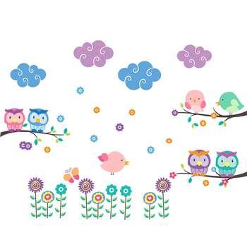 استیکر سالسو طرح tired owls