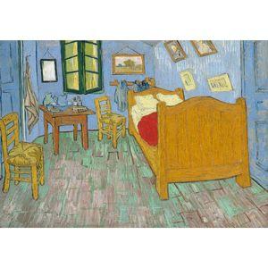 تابلو شاسی گالری هنری پیکاسو طرح اتاق خواب اثر ونگوگ
