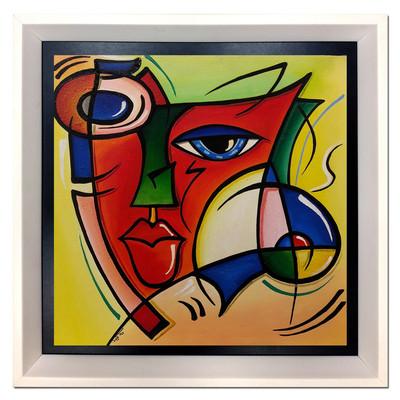 Photo of تابلو نقاشی نگارین گالری کد N-40.40-35