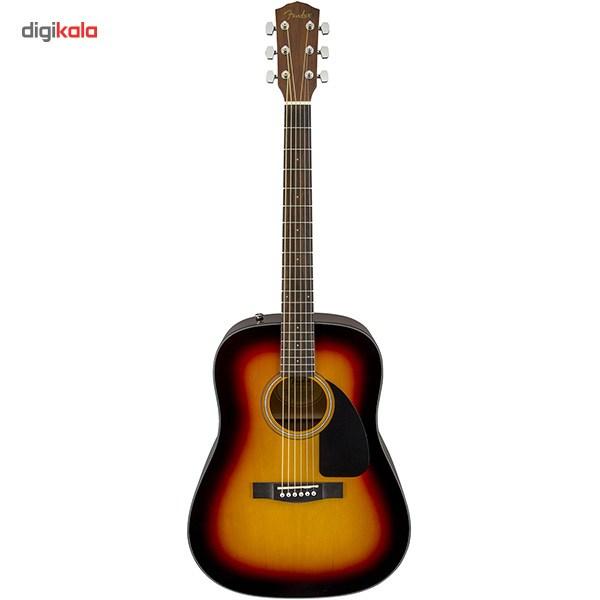 قیمت                      پکیج گیتار آکوستیک فندر مدل CD-60 Sunburst              ⭐️⭐️⭐️
