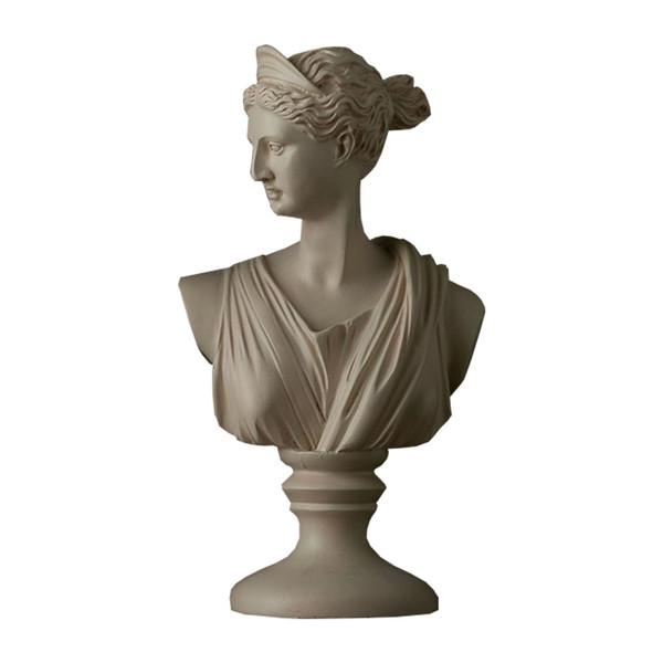 مجسمه دکوریما طرح زن رومی کد JL00283