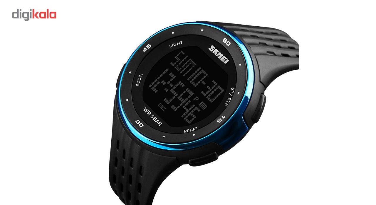 خرید ساعت مچی دیجیتال مردانه اسکمی مدل 1219-B