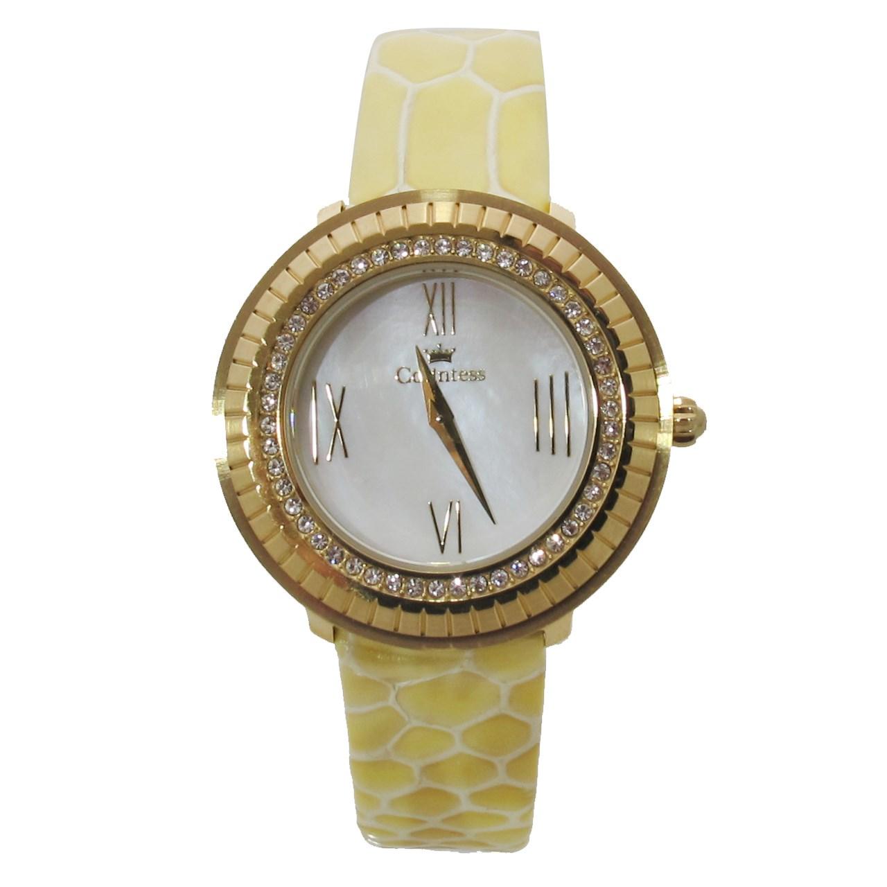 ساعت مچی عقربه ای زنانه کنتس مدل CTS14606GA