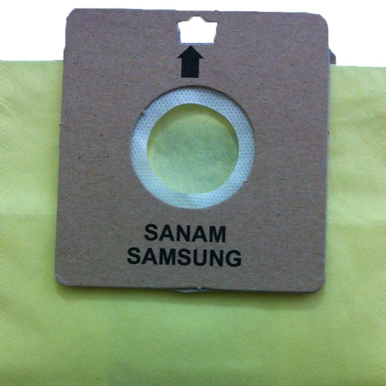 خرید                     کیسه جاروبرقی مدل 05 مناسب برای جاروبرقی سامسونگ و صنام و مارشال  بسته 5 عددی