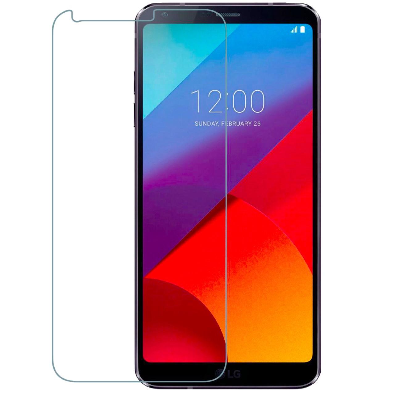 محافظ صفحه نمایش شیشه ای تمپرد هوکار مناسب برای LG Q6