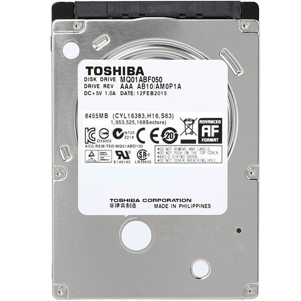 هارد دیسک اینترنال 2.5 اینچی توشیبا مدل MQ01ABF050 ظرفیت 500 گیگابایت