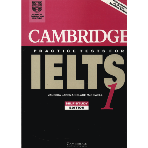 کتاب زبان Cambridge IELTS 1