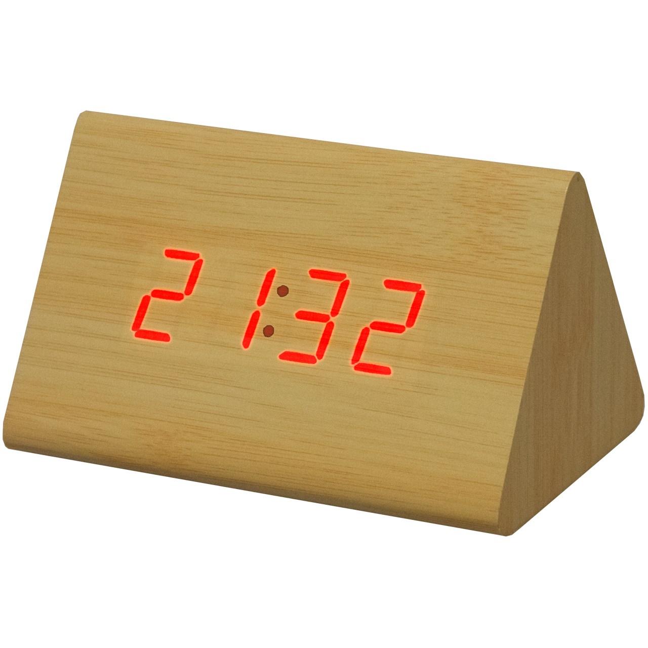 ساعت رومیزی کیمیت مدل Woody 864 C Red