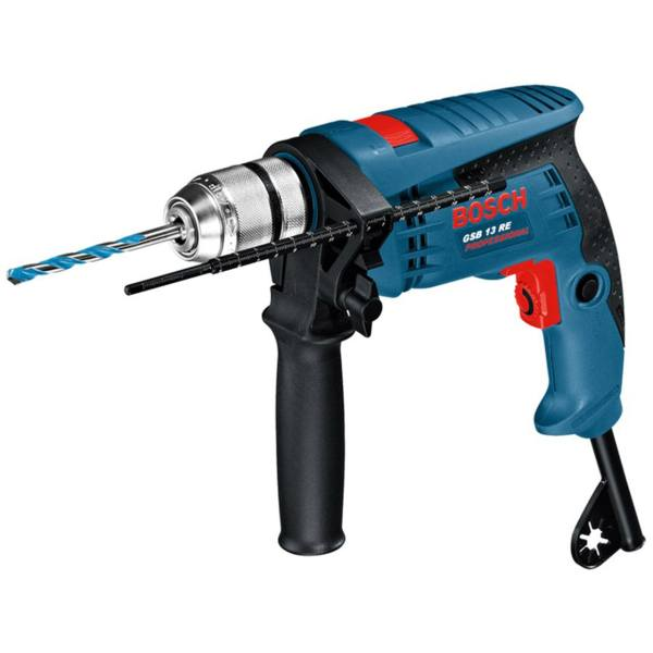 دریل چکشی بوش 600 وات GSB 13 RE Bosch Impact Drill | GSB 13 RE Bosch Impact Drill 600w