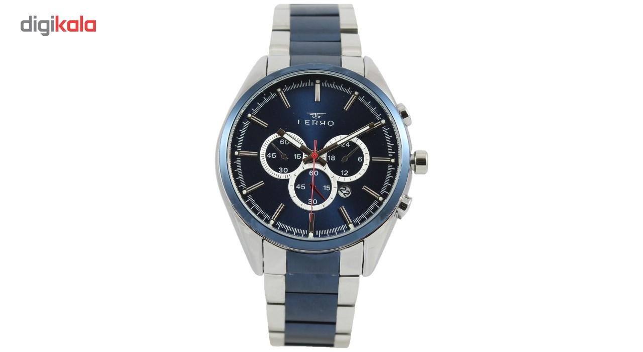 ساعت مچی عقربه ای مردانه فرو مدل F61465-540-L