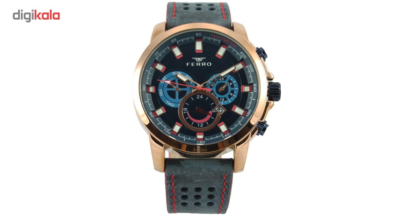 ساعت مچی عقربه ای مردانه فرو مدل F61541-539-C2