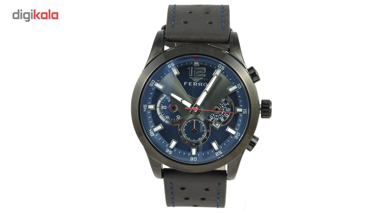 ساعت مچی عقربه ای مردانه فرو مدل F61477-637-V