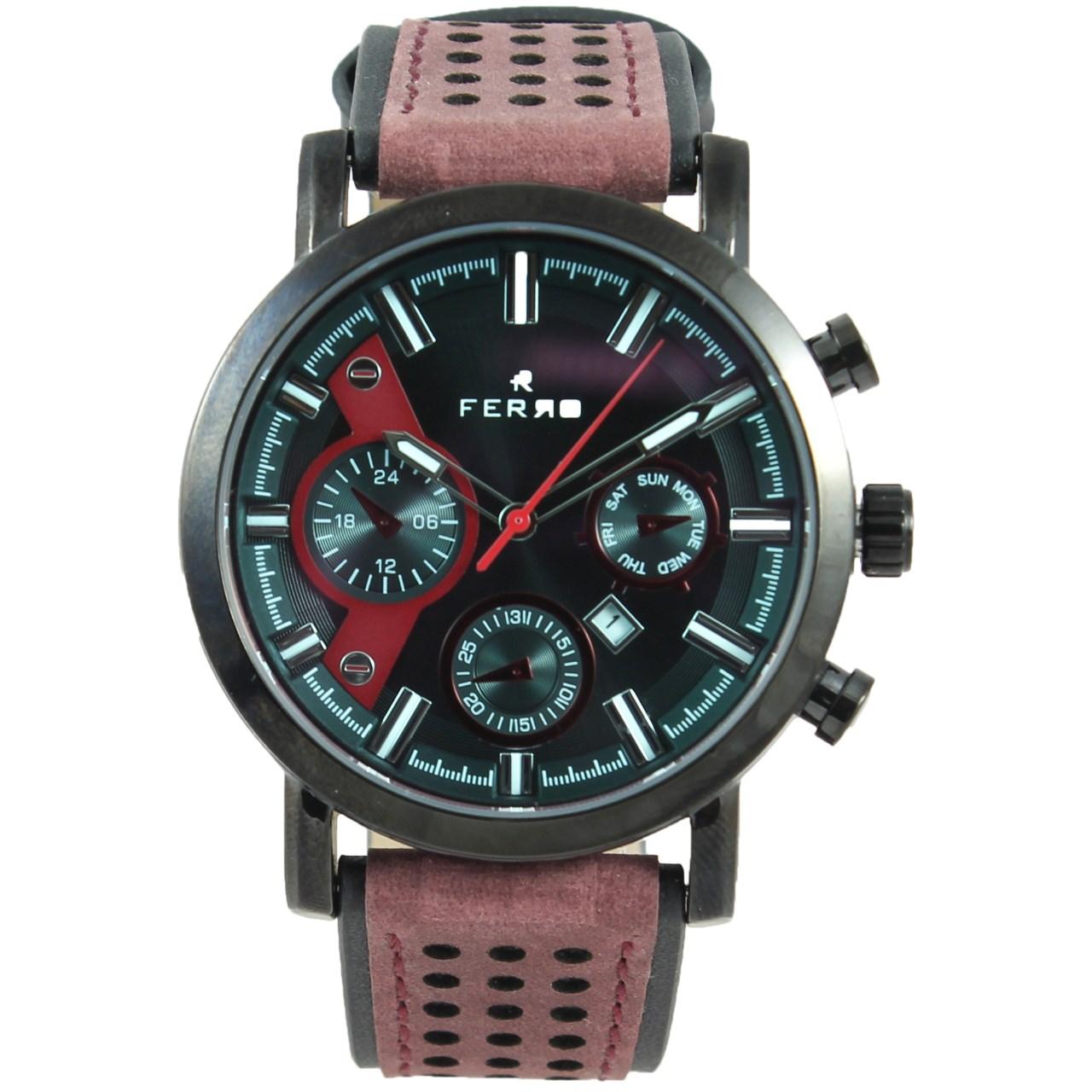 ساعت مچی عقربه ای مردانه فرو مدل F61492-536-G