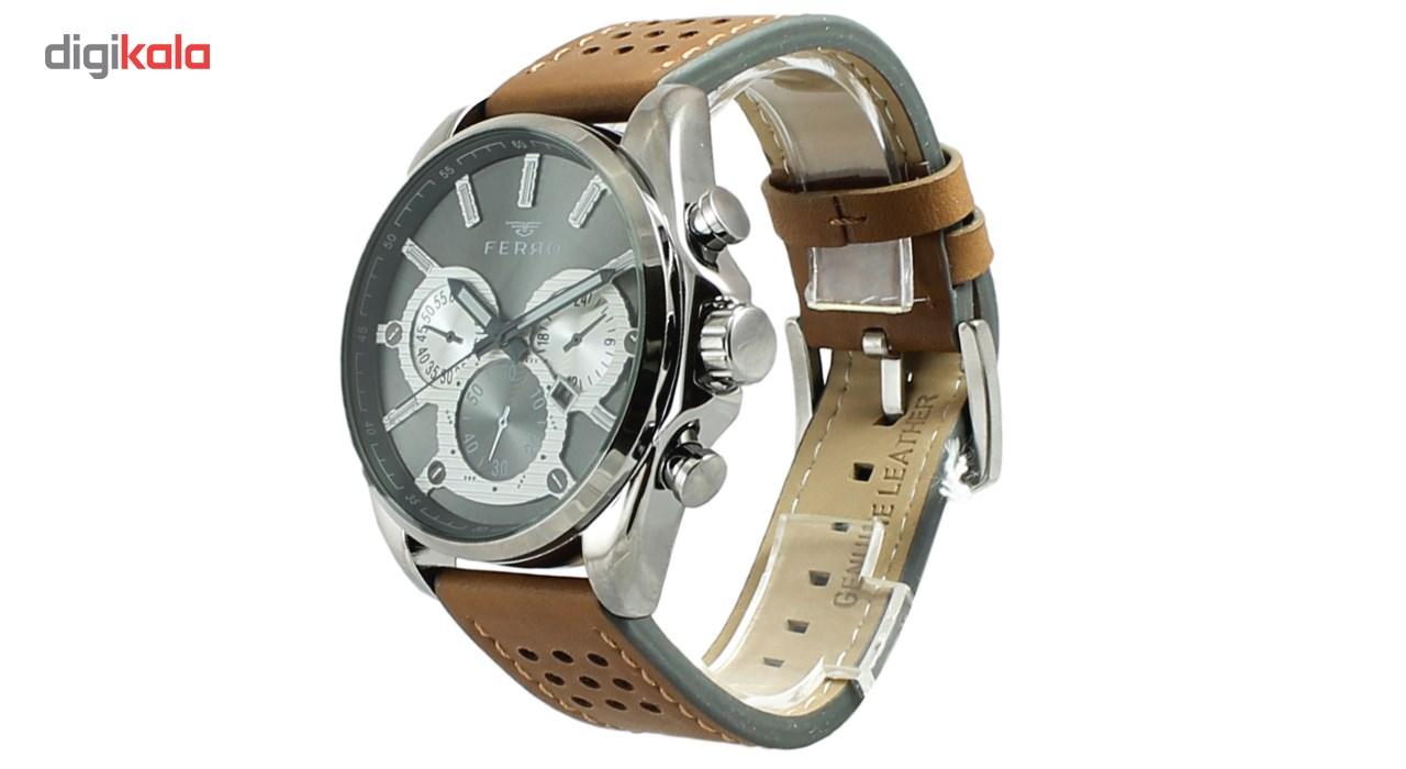 ساعت مچی عقربه ای مردانه فرو مدل F61543-588-U