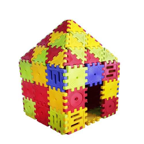 کلبه بازی کودک مدل puzzel
