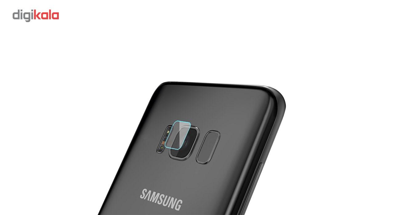 محافظ لنز دوربین شیشه ای مدل تمپرد مناسب برای گوشی موبایل سامسونگ Galaxy S8 main 1 3