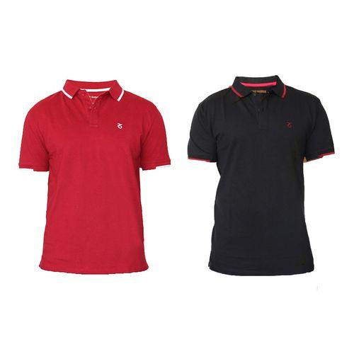 مجموعه دو عددی پلو شرت مردانه نکست بیسیکس مدل 717309 Blackpepper