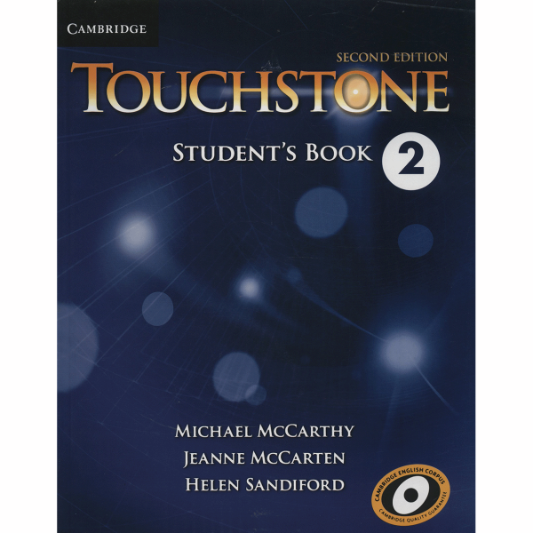کتاب زبان Touchstone 2 Students book And Workbook اثر Michael McCarthy