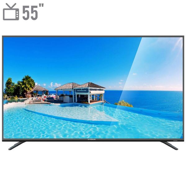 تلویزیون ال ای دی هوشمند ایکس ویژن مدل 55XTU625 سایز 55 اینچ