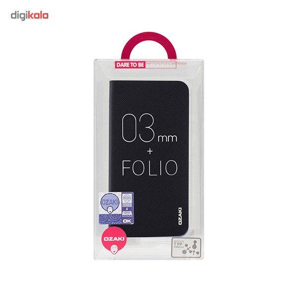 کیف کلاسوری اوزاکی مدل Ocoat 0.4 Plus Folio مناسب برای گوشی آیفون 6 پلاس و 6s پلاس main 1 8