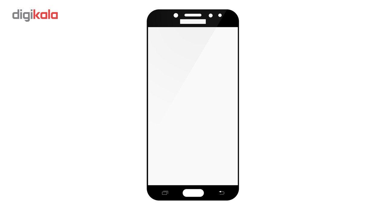 محافظ صفحه نمایش تمپرد مدل فول چسب مناسب برای گوشی موبایل سامسونگ Galaxy J7 Pro main 1 3