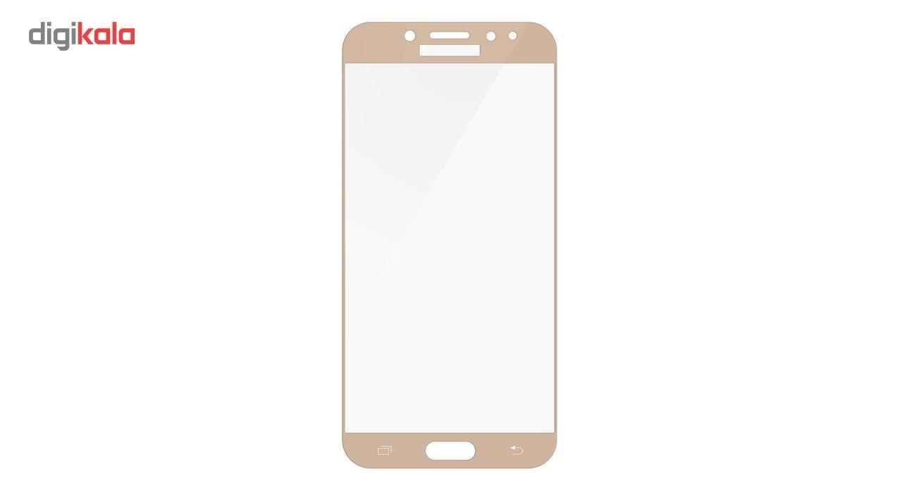 محافظ صفحه نمایش تمپرد مدل فول چسب مناسب برای گوشی موبایل سامسونگ Galaxy J7 Pro main 1 4