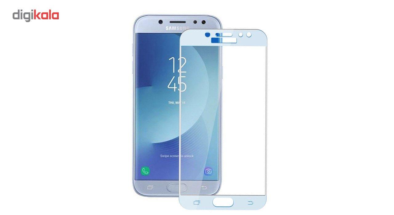 محافظ صفحه نمایش تمپرد مدل فول چسب مناسب برای گوشی موبایل سامسونگ Galaxy J7 Pro main 1 5