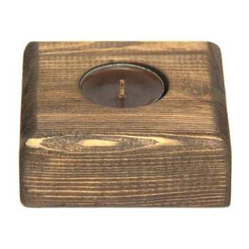 جاشمعی چوبی فیل چوب مدل 001