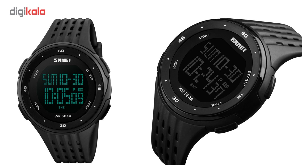 ساعت مچی دیجیتال مردانه اسکمی مدل 1219-S