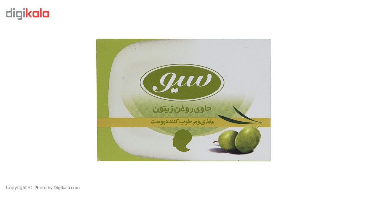 صابون حمام سیو مدل Olive Oil مقدار 125 گرم main 1 1