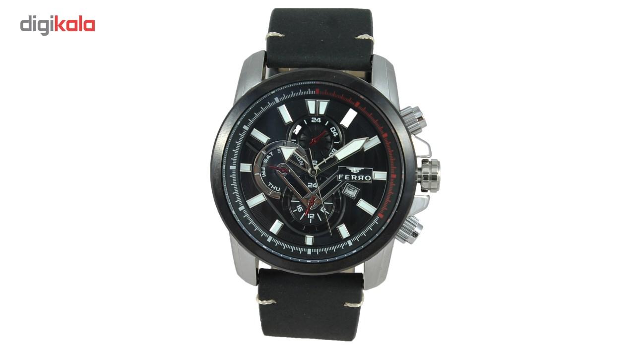 خرید ساعت مچی عقربه ای مردانه فرو مدل F61518-593-J2