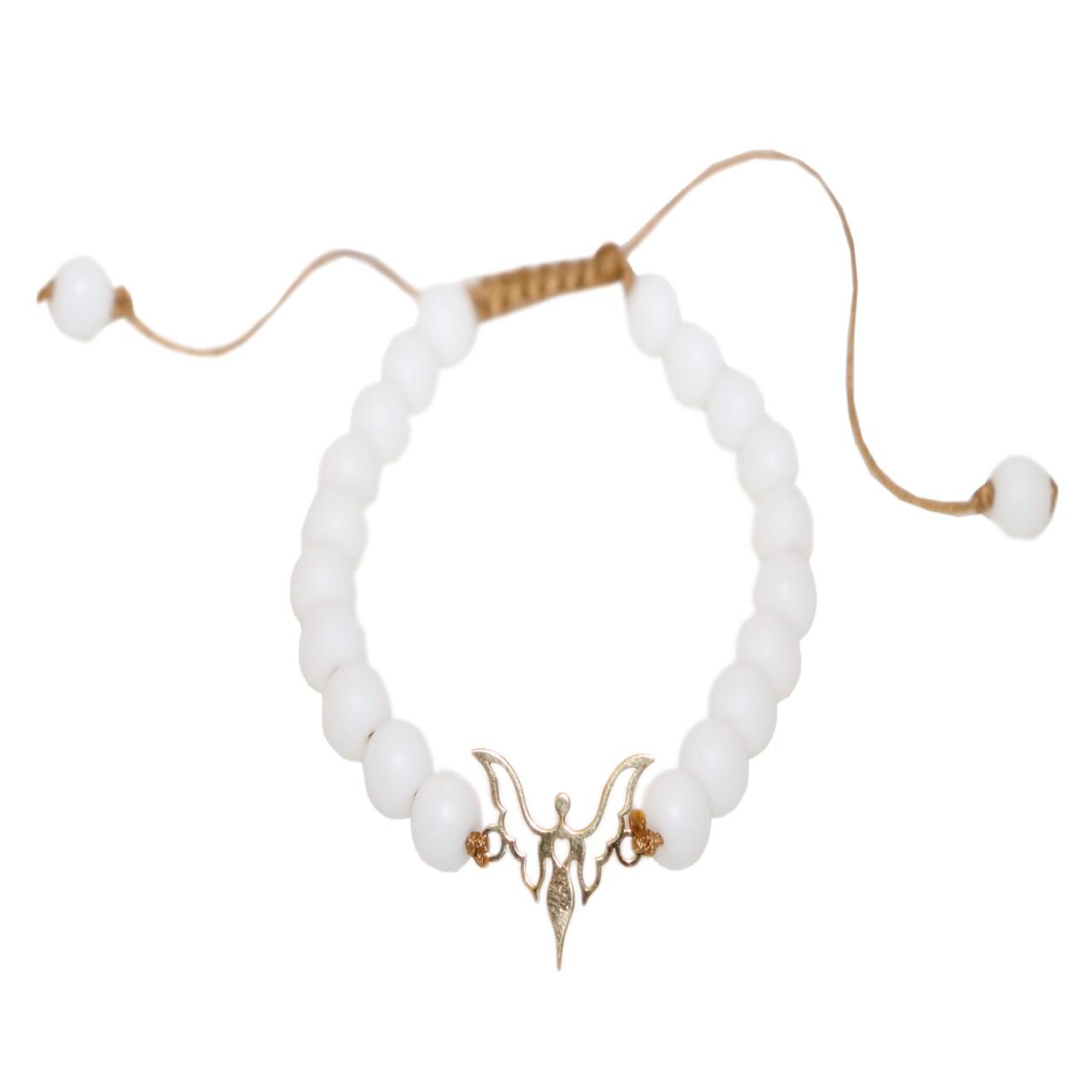 قیمت دستبند طلا 18 عیار الن مدل 101