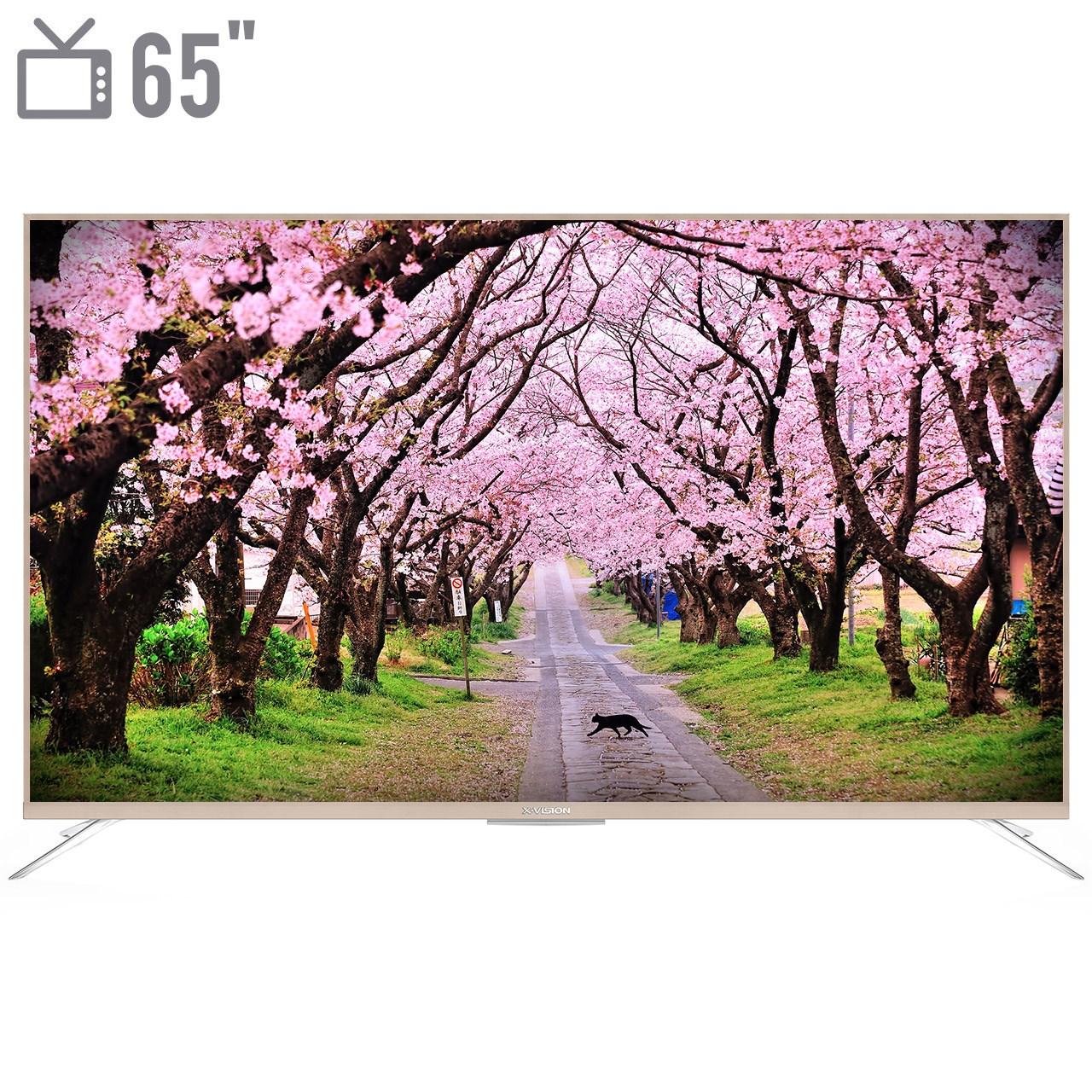 تلویزیون ال ای دی هوشمند ایکس ویژن مدل 65XTU815 سایز 65 اینچ