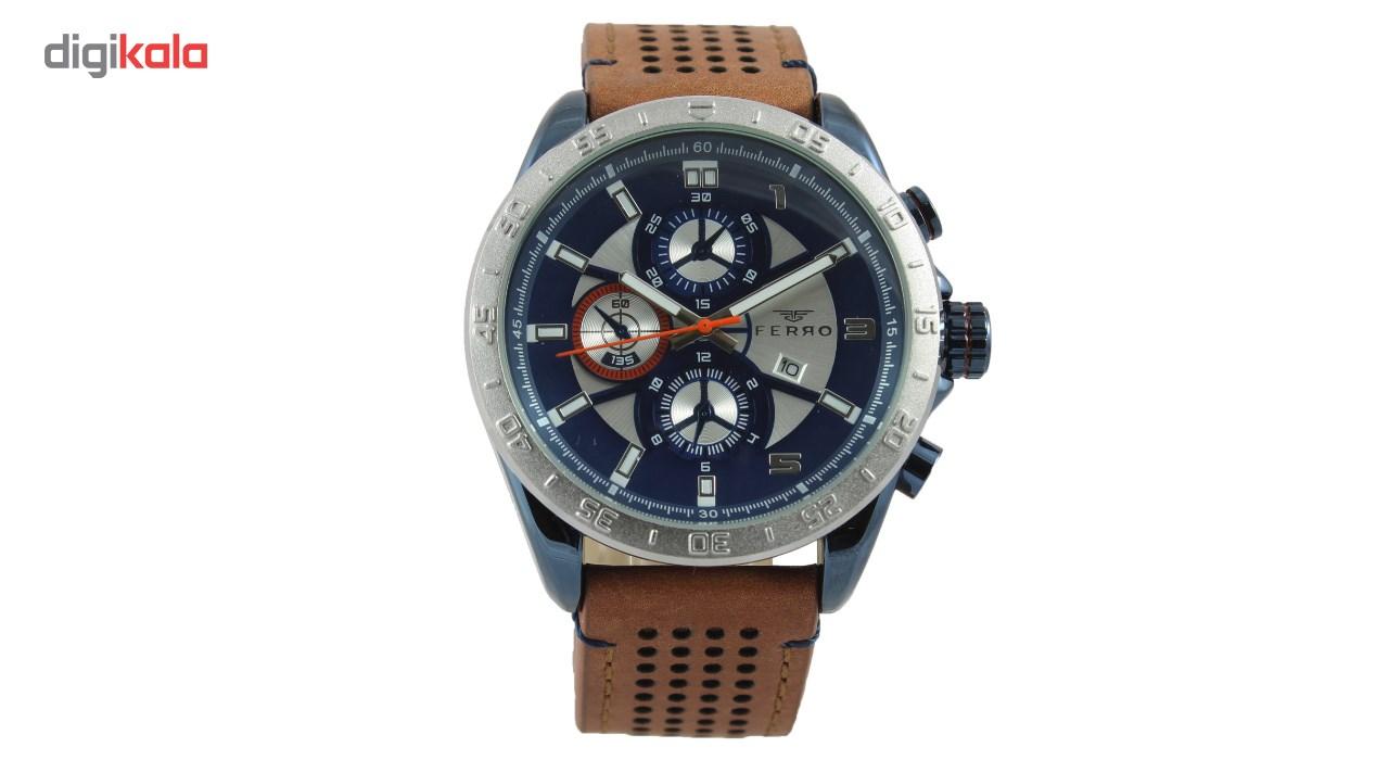 خرید ساعت مچی عقربه ای مردانه فرو مدل F61540-543-L