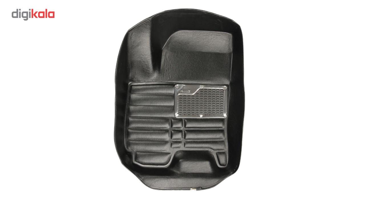 کفپوش سه بعدی خودرو پانیذ مناسب جک اس 5